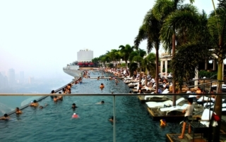 1º Marina Bay Sands (Singapura)