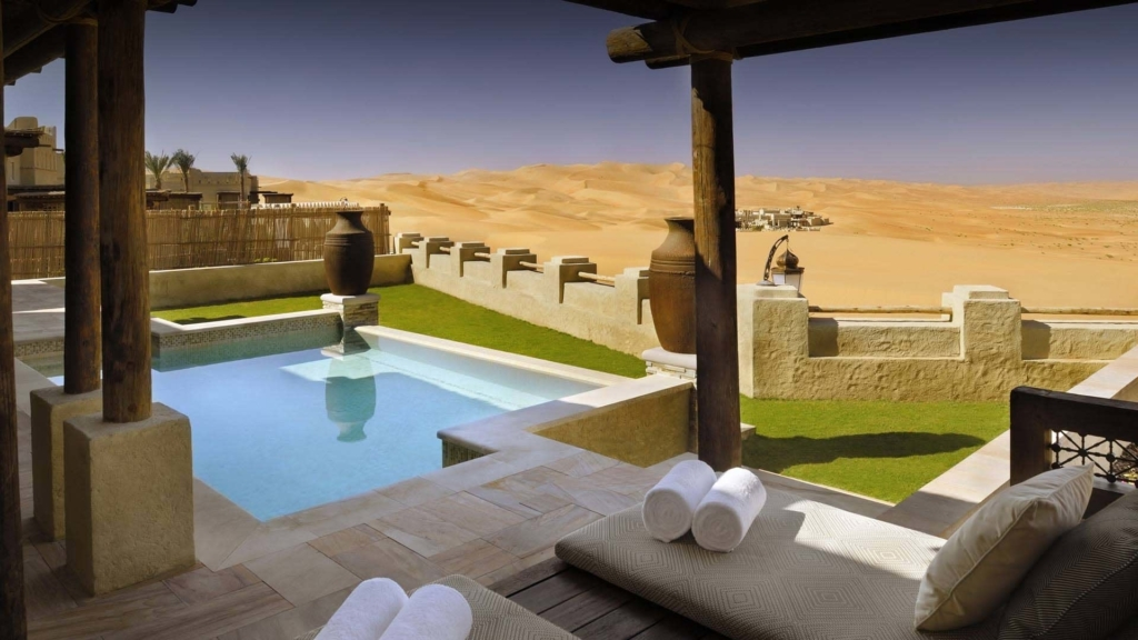 Construção de Piscinas - Anantara Qasr Al Sarab Desert Resort (Emirados Árabes Unidos)
