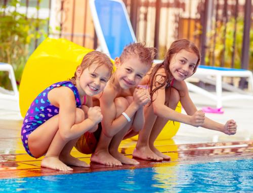 Promova a segurança das crianças na sua piscina!