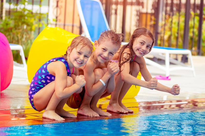 piscina crianças